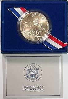 1986 P Statue of liberty Commemorative Silver Dollar $1 Uncirculated