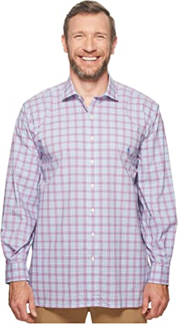Big & Tall Poplin Long Sleeve Sport Shirt
