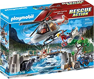 Playmobil Canyon Copter Rescue