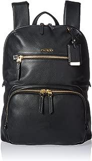 halle leather backpack tumi