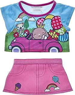 Build A Bear Workshop Kabu Pawlette Skirt Set 2 pc.