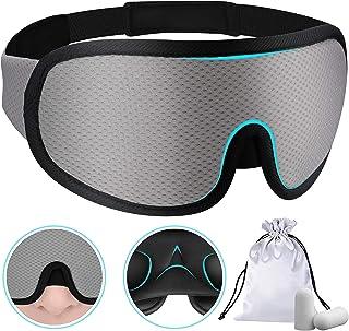 PrettyCare 3D Sleep Eye Mask for Men & Women (Breathable Material) Blockout Light Eye Mask for Sleeping, Eye Covers Blindf...
