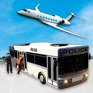 Gangster Airplane Flight Simulator Games free: Transport Criminals In Bus To Airport City Adventure Games 2018