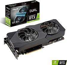 ASUS GeForce RTX 2080 Super Overclocked 8G GDDR6 Dual-Fan EVO V2 Edition VR Ready HDMI DisplayPort 1.4 Graphics Card (DUAL-RTX2080S-O8G-EVO-V2)