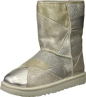Women's W Classic Glitter Patchwork Fashion Boot