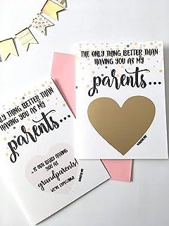 Pregnancy Scratch Off Card for Parents