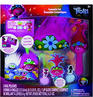 Townley Girl Trolls World Tour Hair Lip and Nail Cosmetic Set