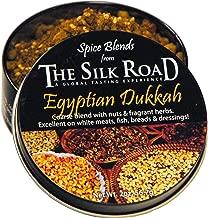 Egyptian Dukkah Spice Blend from The Silk Road Restaurant & Market (2oz), No Salt | All Natural Dukkah Seasoning | Vegan | Gluten Free Ingredients | NON-GMO | No Preservatives Product Name