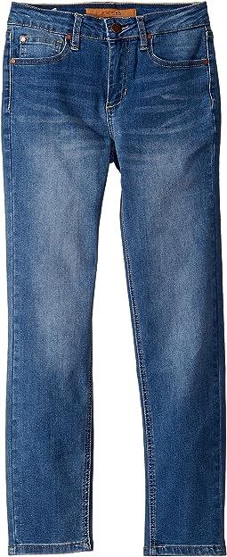 Brixton Slim Straight in Union Blue Wash (Big Kids)