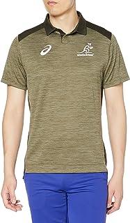 [アシックス] ラグビーウエア ワラビーズ20 メディアポロシャツ レプリカ 2111A818 メンズ