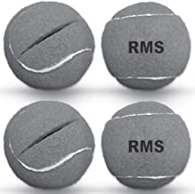 RMS Walker Glide Balls - A Set of 4 Balls with Precut Opening for Easy Installation, Fit Most Walkers (Grey)
