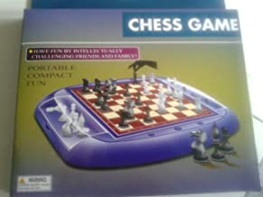 NO STRESS CHESS GAME PORTABLE AND COMPACT