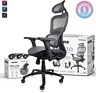 Enjoyable Best Ergonomic Reclining Desk Chair Of 2019 Top Rated Ibusinesslaw Wood Chair Design Ideas Ibusinesslaworg