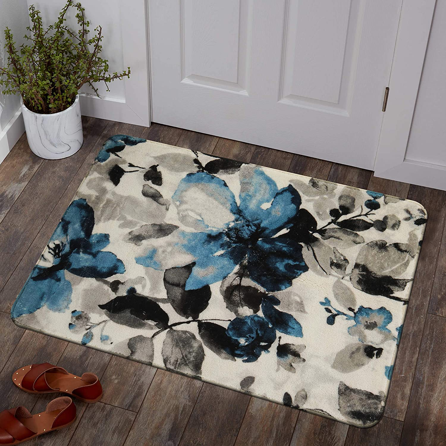 Lahome Contemporary Modern Flowers Area X Same day Austin Mall shipping 3' - Rug 2'