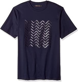 Bugatchi Men's Single Mercerized Cotton Jersey Midnight T-Shirt
