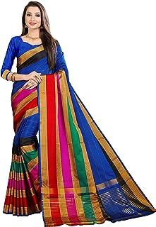 Arkita Art Silk Saree (Assmsak1B_Blue)