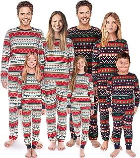 Matching Christmas Pajamas Family Set Holiday Pjs Matching Couples Kid Warm Sleepwear Classic