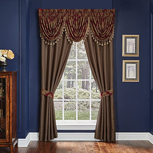 Croscill Sebastian Pole Top Drapery Panels 4 Piece