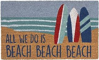 """Liora Manne Natura Beach Beach Outdoor Mat Ocean 18""""X30"""""""