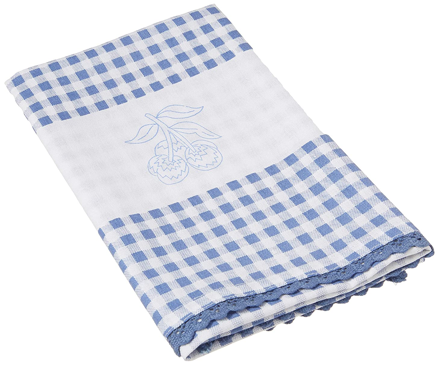 Tobin Cherry Stamped Kitchen Towels for Embroidery (2/Pack), 16