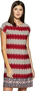 ABOF Women's Shift Knee-Long Dress