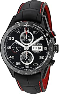 TAG Heuer Men's CV2A81.FC6237 Analog Display Swiss Automatic Black Watch