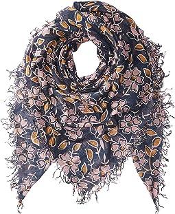 Chan Luu - Vintage Floral Print Cashmere Scarf