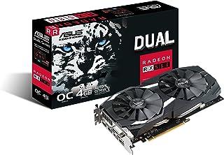 ASUS DUAL-RX580-O4G オーバークロック仕様 Radeon RX 580搭載グラフィックスカード 4GB GDDR5
