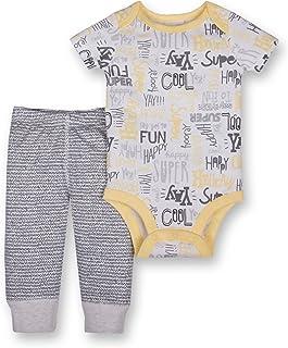 Lamaze Baby-Boys Organic 2 Piece Bodysuit and Pant Set Layette Set