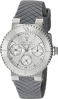 Invicta Womens Analog Quartz Watch with Silicone Strap 22953