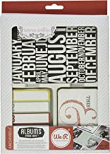 We R Memory Keepers Teresa Collins Albums Made Easy Journaling Cards, Archived, 100-Pack