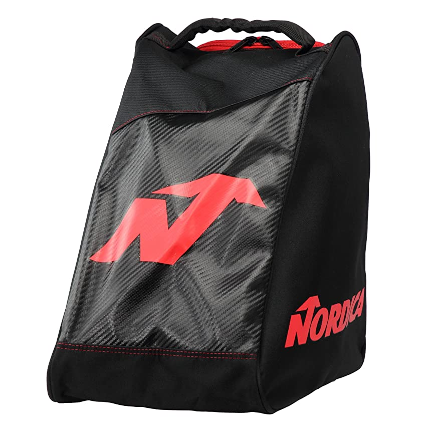 試みる後退する不振NORDICA(ノルディカ) PROMO BOOT BAG 0N303700741 BLACK/RED