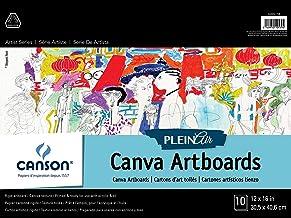 """CANSON Plein Air Art Board Canvas Pad, 0, 12""""X16"""""""