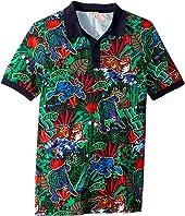 Kenzo Kids - Printed Polo Shirt (Big Kids)