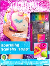 Youniverse Make Your Own Sparkling Squishy Soaps by Horizon Group USA,Girl STEM Science Kit.DIY 5 Colorful Unicorn, Doughn...