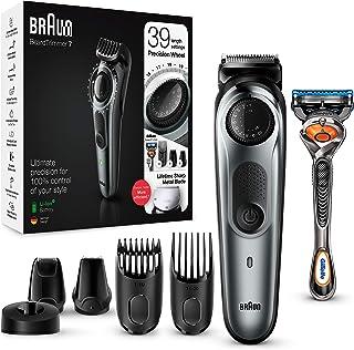 Braun BT7240 - Recortadora Barba y Cortapelos para Hombre, Cuchillas Metálicas Afiladas de Larga Duración, 39 Ajustes de L...