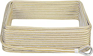 Extreme Max 3006.2042 BoatTector Double Braid Nylon Anchor Line with Thimble - 3/8