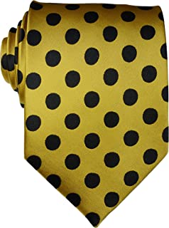 Geotae Zerun New Classic Men's Polka Dots Silk Tie Necktie …