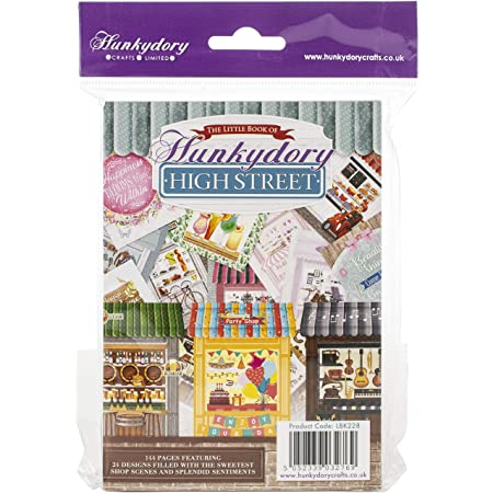 40 Foiled /& Die Cut Sheets Hunkydory Crafts Whopper Topper Pad For the Boys