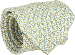 Vineyard Whale Silk Tie