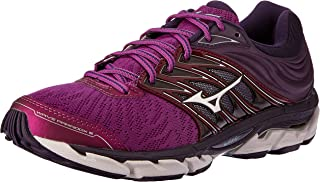 Mizuno Australia Women's Wave Paradox 5 Running Shoes, Purple Wine/Silver/Mysterioso