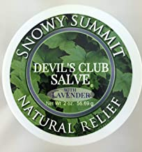 Lavender Devil's Club Salve, Snowy Summit, Salve, Pain Relief, Natural Relief, Devil's Club, All Natural, Herbal Salve, Alaska Devil's Club Salve