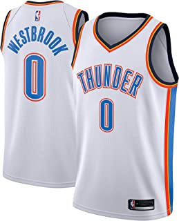 Outerstuff Russell Westbrook Oklahoma City Thunder White Youth Association City Edition Swingman Jersey