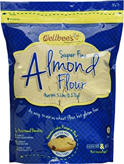 Wellbee's Blanched Almond Flour / Powder 5 Pound