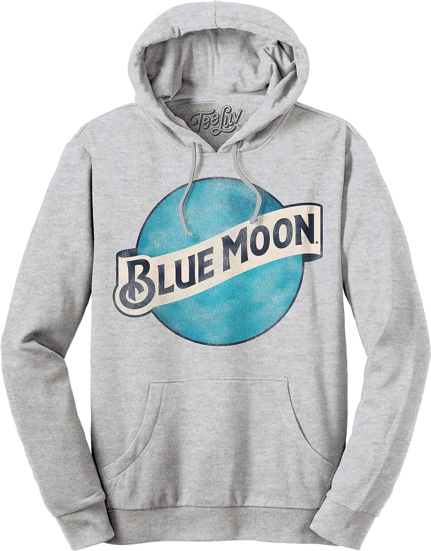 Tee Luv store Blue Moon Hoodie Sweatshirt Award - Beer Hooded