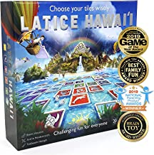 Latice Hawaii Strategy Board Game - The Remarkable Multi-Award-Winning Smart New Family Game. Intelligent Fun for Creative...