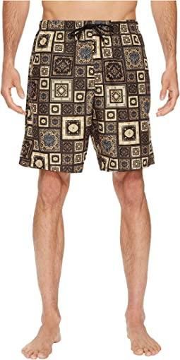 Printed Beach Long Shorts