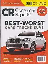 Consumer Reports 2019 Auto Issue Best + Worst Cars Trucks Suvs