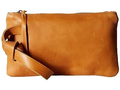 ABLE Rachel Wristlet (Cognac) Wristlet Handbags