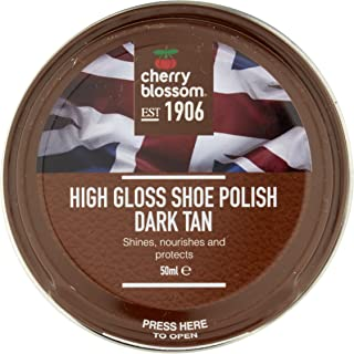 Cherry Blossom Shoe Polish/Dark Tan / 1.69 oz. / Made in England